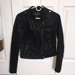 Faux Leather Jacket!